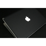 "SGP MacBook Pro 13.3"" Skin Guard Set Series [Deep Black Leather]"